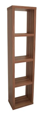 Bombay Narrow Bookcase Angle