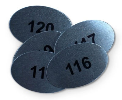 Table Number Disks