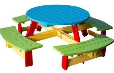 Oasis Citrcular Picnic Table V2