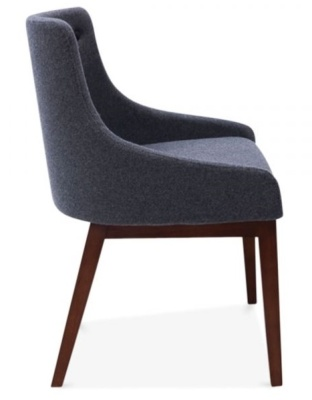 Jolly Designer Dining Chair Side View