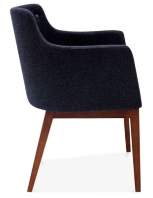 Jolly Designer Armchair Side Vuew