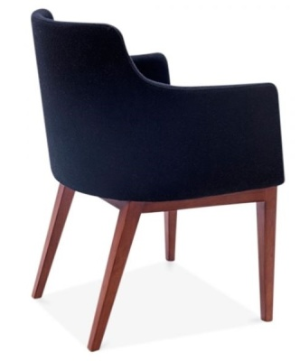 Jolly Designer Arm Chair Rear Angle
