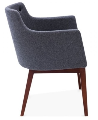 Jolly Designer Armchair Side View