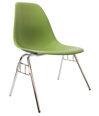 Eames Dss Chair In Green Angle View