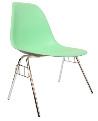 Eames Dss Chair In Peppermint Angle View