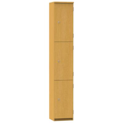 Aztec 3 Door Wooden Locker