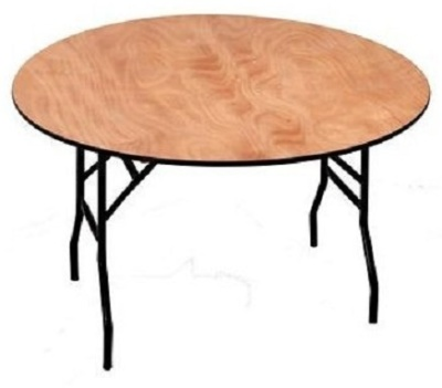 Swift Round 3 Foot Folding Table