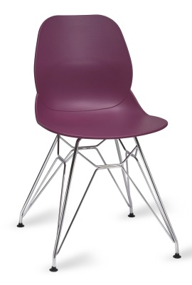 Mackie Chair With A Pyrmad Chair In Plum