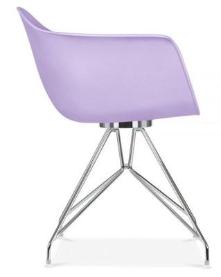 Memot Chair In Lavender Side View