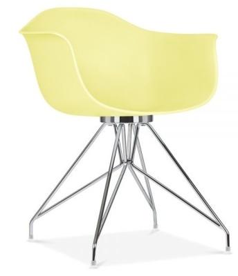 Memot Chair In Lemon Front Angle