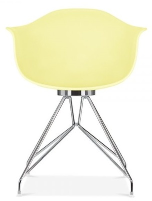 Memot Chair In Lemon Front