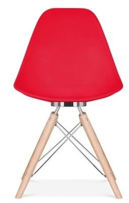 Acona Chair Red She;; Front View