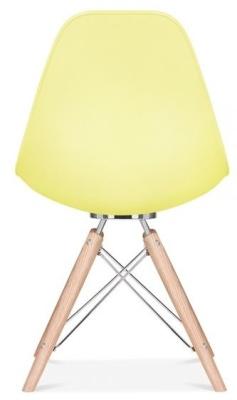 Acona Chair Lemon Shell Rear View
