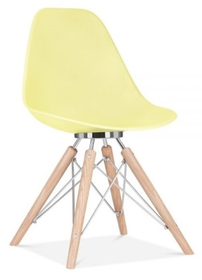 Acona Chair Lemon Shell Front Angle