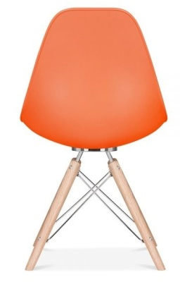 Aconan Chair In Orange Rear View