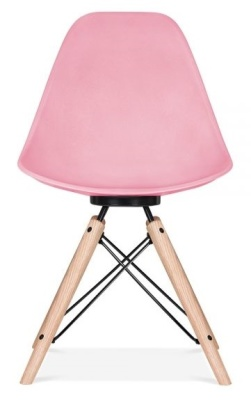 Ancona Chair In Pink And Black Frame