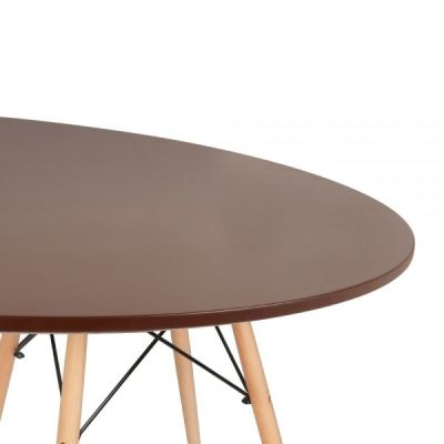 Eames Table Walnut Detail