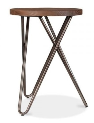 Hairpin Cross Styue Low Stool 3