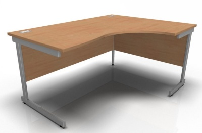 Stella Right Hand Corner Desk In Beech