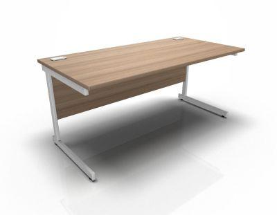 Canteliver Rectangular Desk Birch