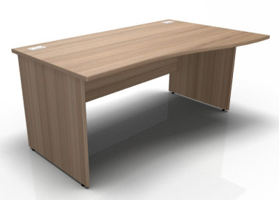 Stella Right Hand Wave Desk