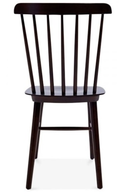 Buckingham Chair In Brown Rear View