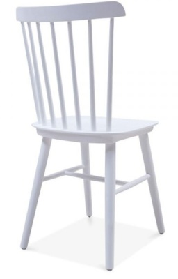 Buckingham Chair In Cool Grey Rear Angle