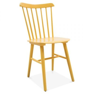 Buckingham Dining Chair In Yellow Front Angle
