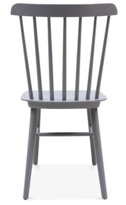 Buckingham Chair In Black Rear View
