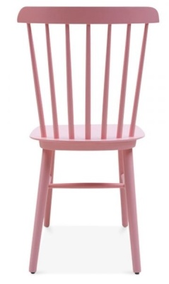 Buckingham Chair In Pink Rear View