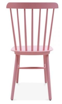 Buckingham Chair In Pink Rear View
