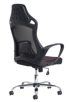 Remlon Mesh Task Chair Rear Angle