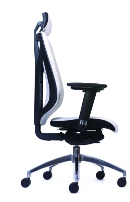 Pulse Ergonomic Task Chair Side View