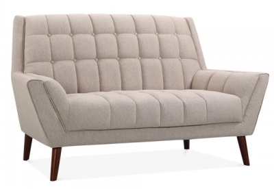 Cortina Sofa Ion Cream Upholstery Angle Shot