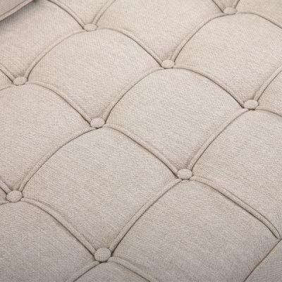 Gustav Cream Fabric Detail