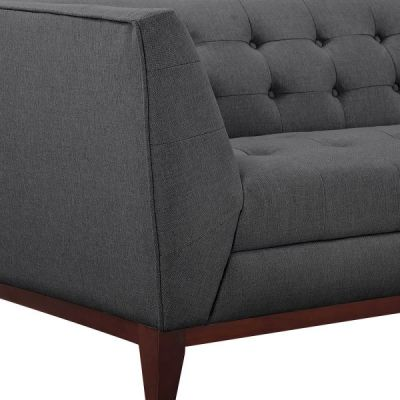 Eden Dark Grey Sofa Detail