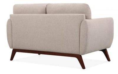Toleta Designer Sofa In Cream Rear Angle