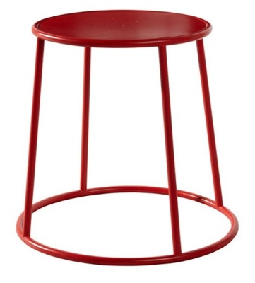 Maxine Low Stools In Red