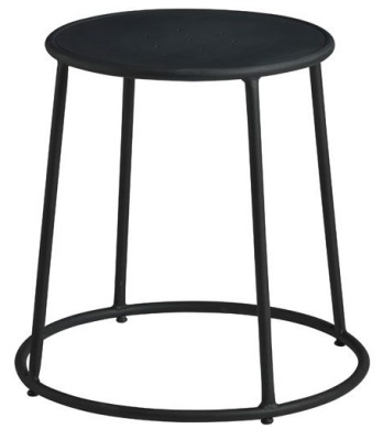 Maxine Low Stools In Black