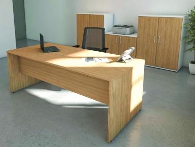 Avalon Premier Executive Rectangular Desk