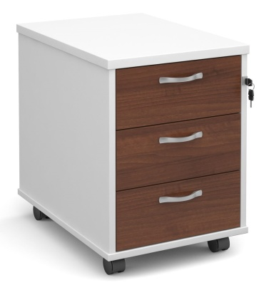 Duplex Three Drawer Mobile Pedestals