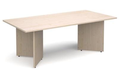Dexter Rectangular Table Maple Finish