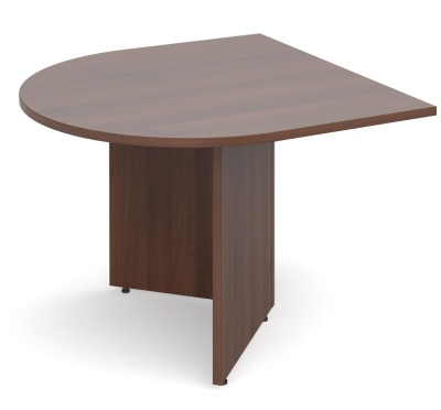 Dexter D End Table Extension In Walnut