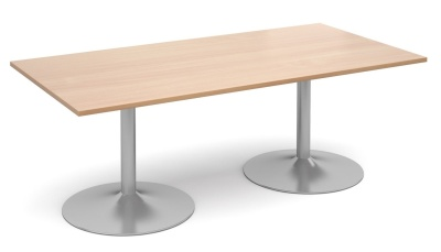 Tempest Rectangjular Table With A Beech Top