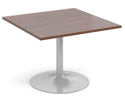 Tempest Square Modular Table With A Walnut Top