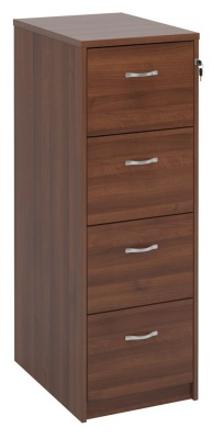 Momento Next Day Wooden Filing Cabinet In Walnut