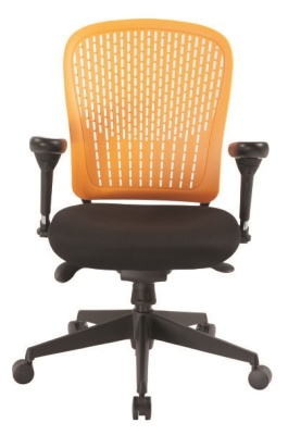 Elasto Chair Orange Back Front View