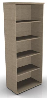 CO1 2030h Bookcase Bleached Oak