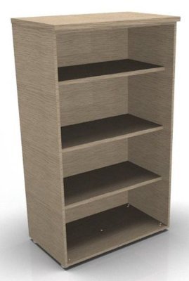CO1 1360h Bookcase Bleached Oak