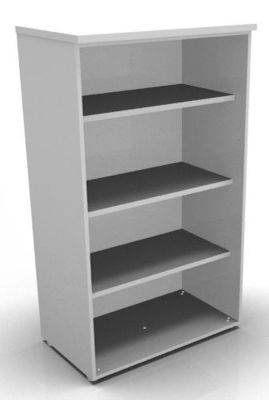 CO1 1360h Bookcase Whte